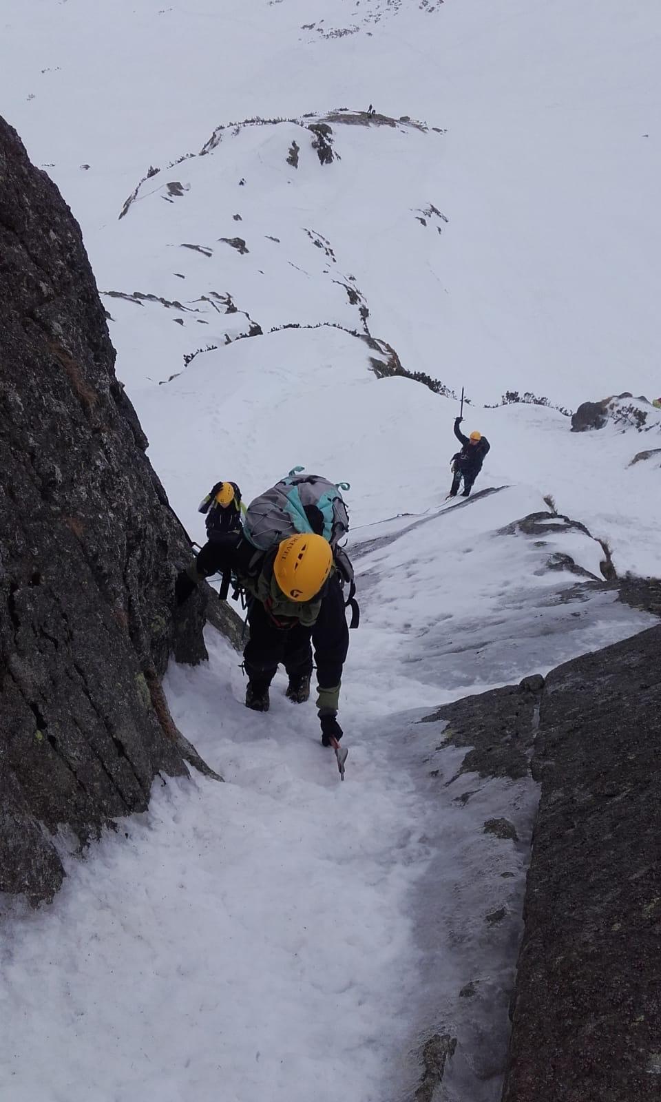 lód - wspinaczka górska